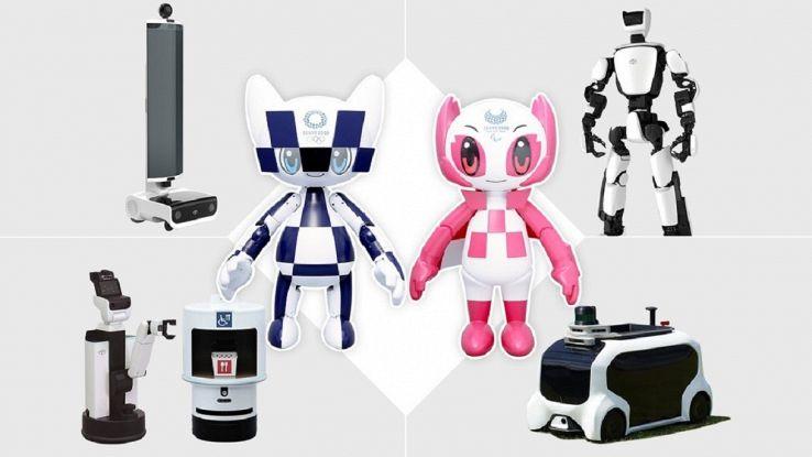 Tokyo 2020, le Olimpiadi dei robot: sugli spalti e in campo con gli atleti