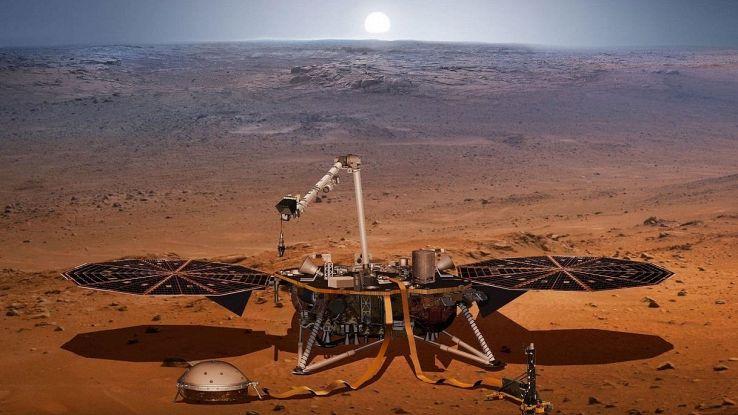 La Nasa ha scoperto come è fatto il cuore di Marte