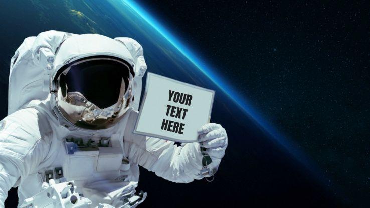 Annunci pubblicitari lanciati nello Spazio: l'idea di una startup