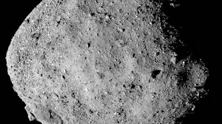 L'asteroide Bennu è meno pericoloso del previsto