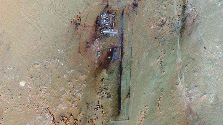 "Google Maps mostra una base militare ""segreta"" nel Sahara"