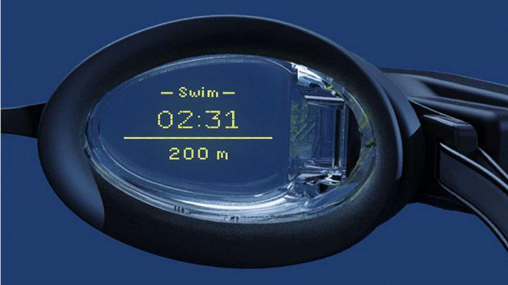 occhialini nuoto smart