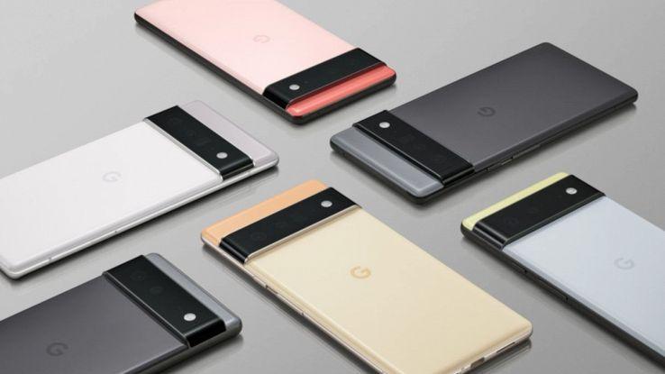 google pixel 6 ufficiale