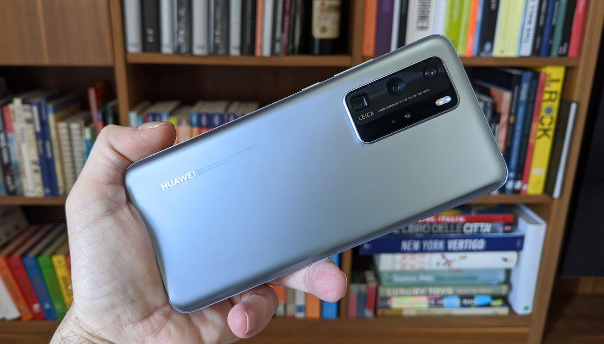 Fotocamera posteriore Huawei P40 Pro