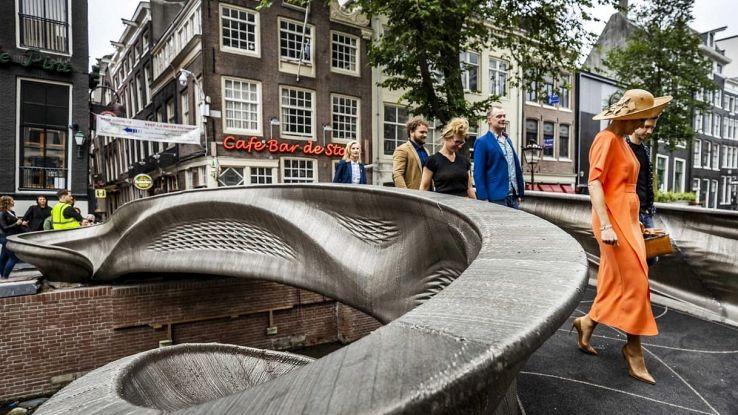 Dove è stato aperto il primo ponte al mondo stampato in 3D