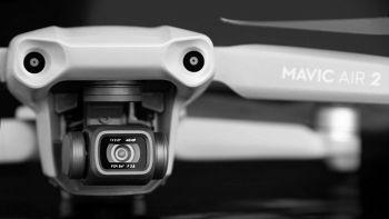 Dettaglio di un drone DJI