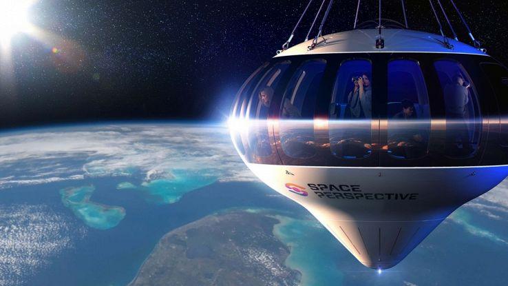 """In vendita i biglietti per andare nello spazio in """"mongolfiera"""""""