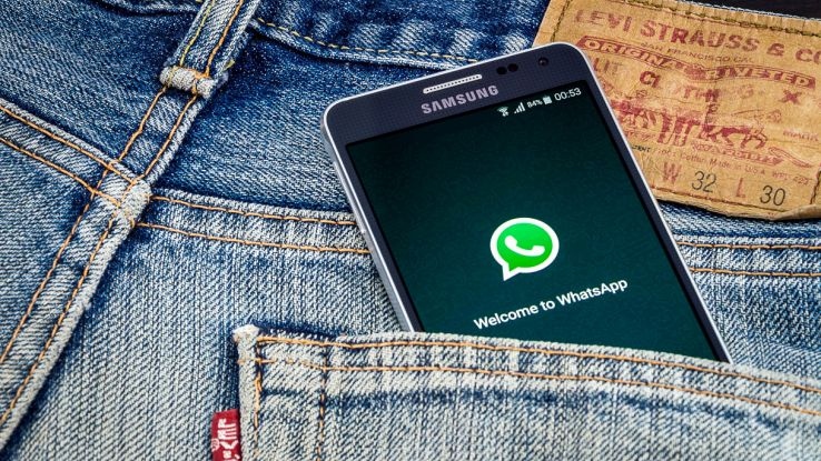 whatsapp telefoni samsung