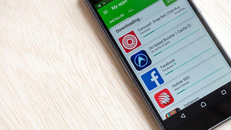 come aggiornare le app di android