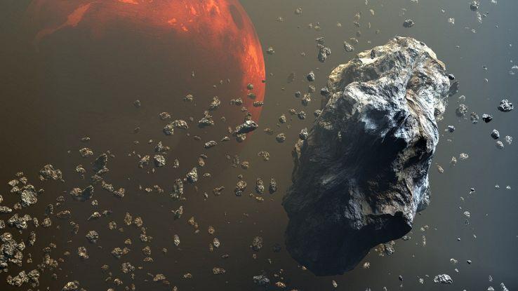 Come in un videogioco: navicella contro asteroide, l'assurdo test NASA