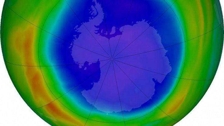 Il buco dell'ozono al Polo Sud è più grande del Polo Sud