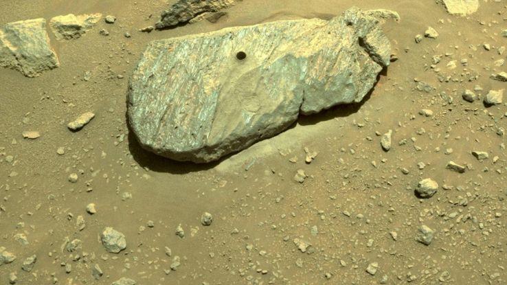 Rochette, la prima pietra marziana che arriverà sulla Terra