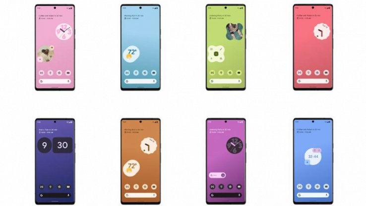 google pixel 6 material design