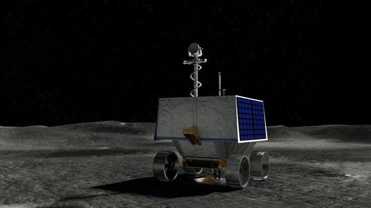 A caccia d'acqua sulla Luna: scelto il sito per l'allunaggio di Viper