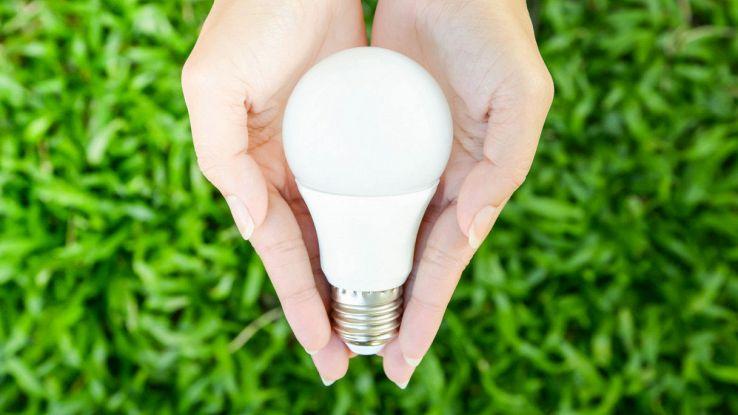 lampada a led risparmio energetico