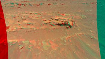 La Nasa ha immortalato le rocce di Marte in 3D