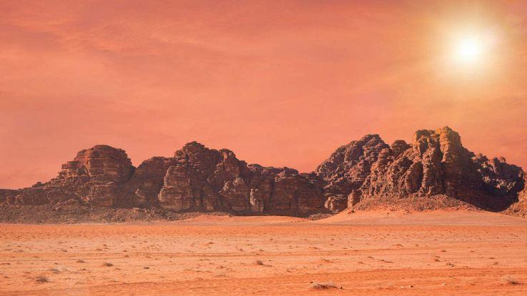 Ossigeno su Marte, la scoperta