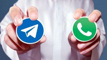 telegram whatsapp