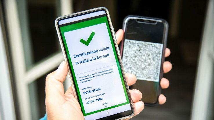 app green pass