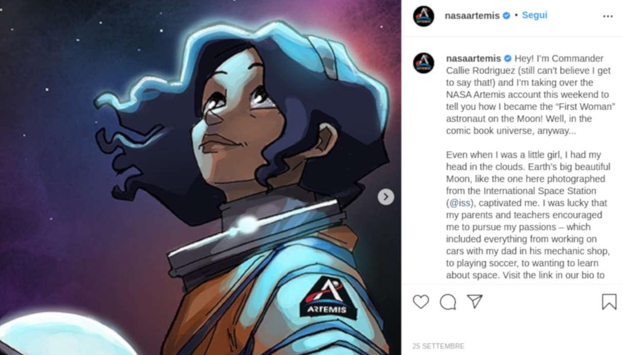 La NASA e la sua graphic novel interattiva