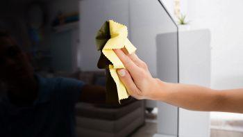 consigli su come pulire lo schermo della tv