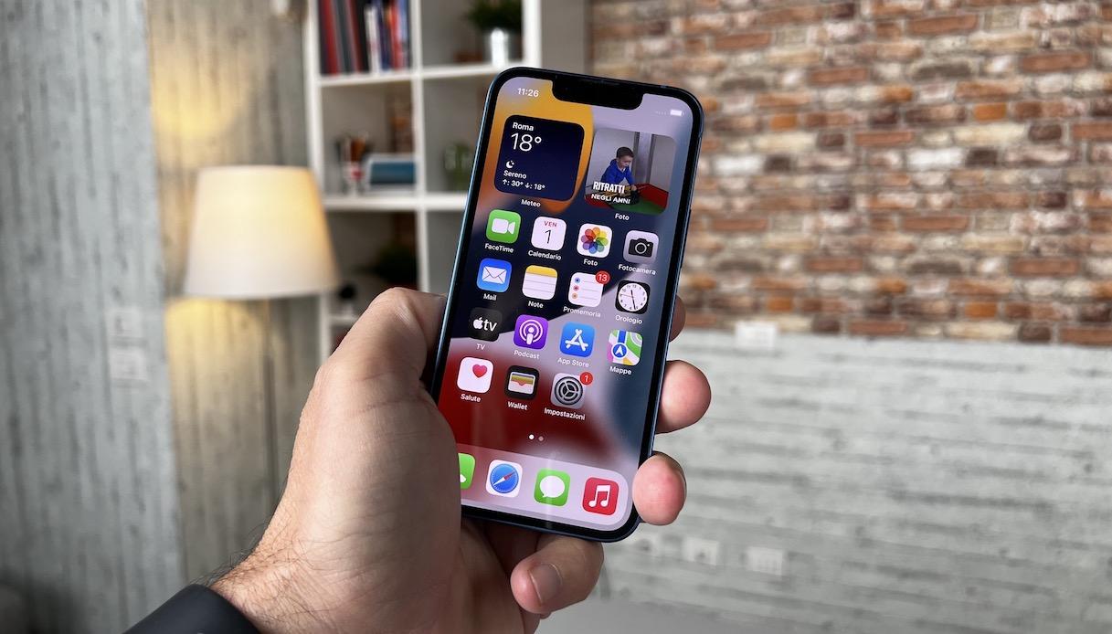 Il display di iPhone 13 Mini