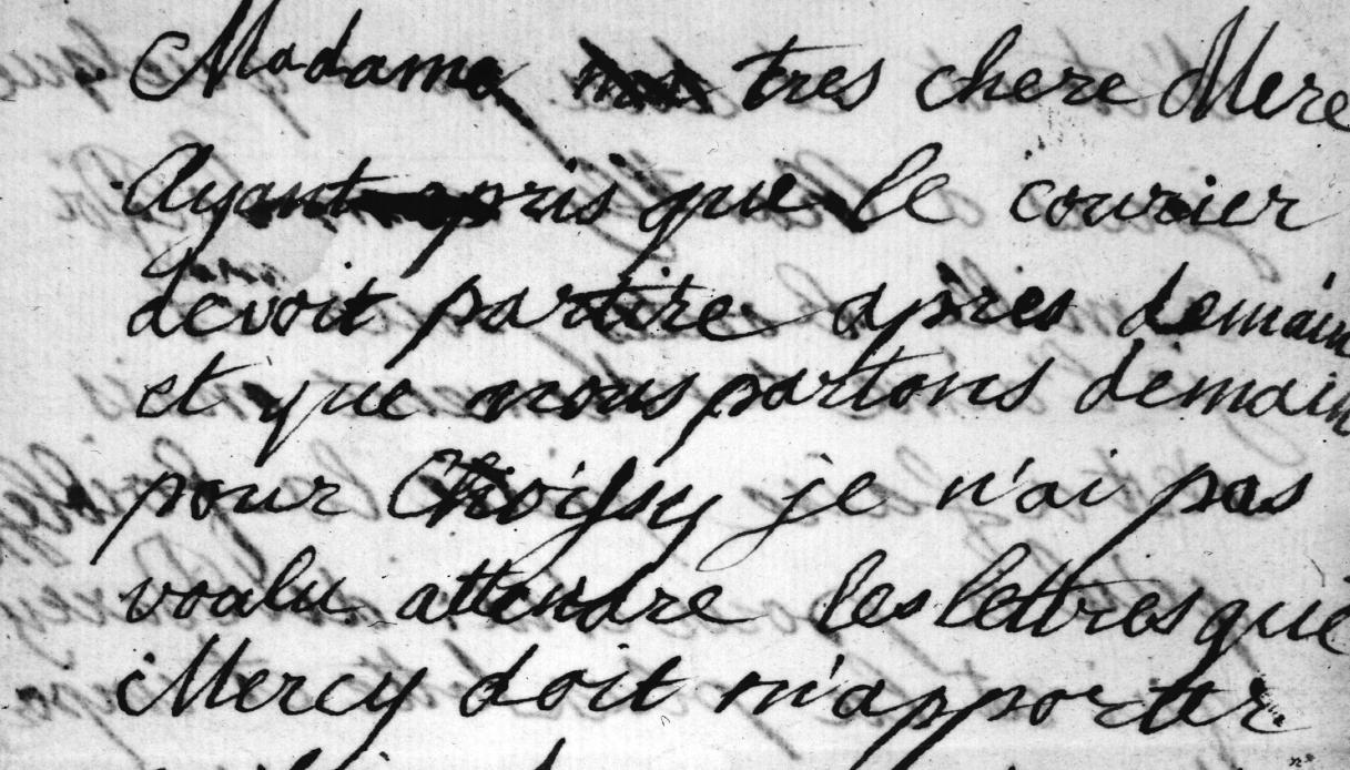 Le lettere di Maria Antonietta