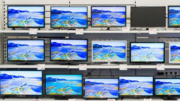 smart tv d'importazione