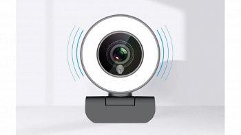 webcam usb con ring light