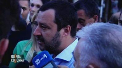 """Salvini: """"meglio il voto che un Governo tecnico"""""""