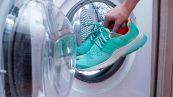 Sneakers in lavatrice, gli errori da non commettere