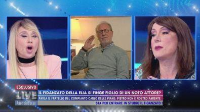 Il fidanzato di Antonella Elia strumentalizza il suo cognome?