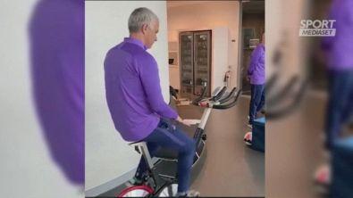 Il cyber-allenamento di Mourinho