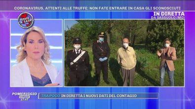 Coronavirus, carabinieri: pensioni a domicilio per gli anziani sopra i 75 anni