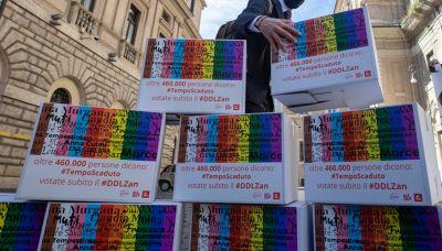 Ddl Zan, a quanti italiani piace la legge contro l'omotransfobia