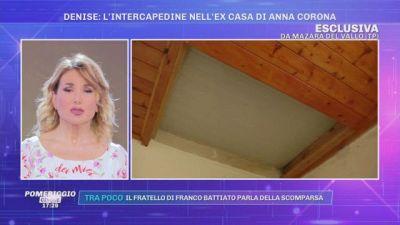 La scomparsa di Denise Pipitone: l'intercapedine nell'ex casa di Anna Corona