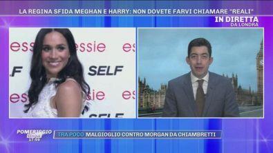 La Regina sfida Meghan e Harry