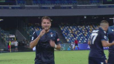 C'è l'Inter al secondo posto. Record di gol per Immobile