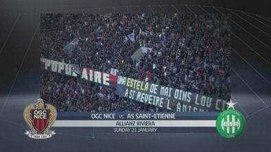 Nizza - Saint Etienne 1-0