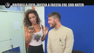 SARNATARO: Raffaella Fico: faccia a faccia col suo hater