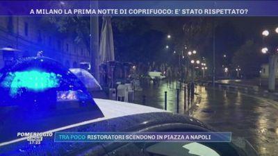 Covid-19, a Milano la prima notte di coprifuoco: è stato rispettato?