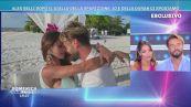 La proposta di matrimonio di Alex Belli a Delia Duran