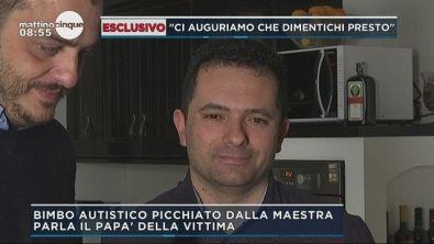 Polistena, parla il papà del bambino maltrattato