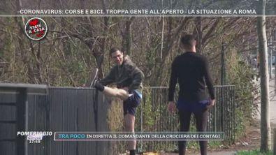 Coronavirus: la situazione a Roma