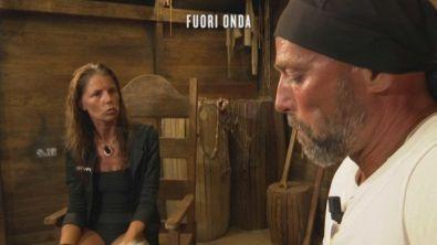 Il confronto di Marina La Rosa e Stefano Bettarini