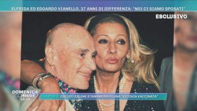 """Elfrida ed Edoardo Vianello, 37 anni di differenza: """"Noi ci siamo sposati"""""""