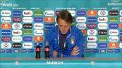 """Europei, Mancini: """"Il Belgio e' la n.1. Faremo la nostra partita per vincere"""""""