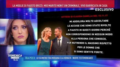 La moglie di Fausto Brizzi risponde...