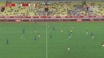 Monaco-Sampdoria 1-0, gli highlights