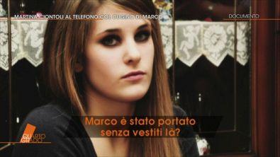 Martina Ciontoli al telefono
